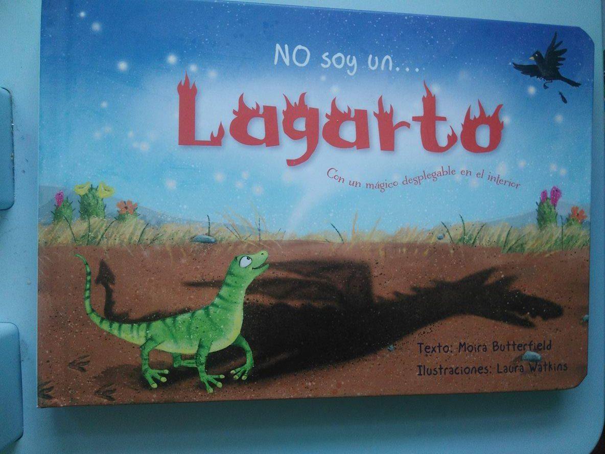 No soy un…lagarto