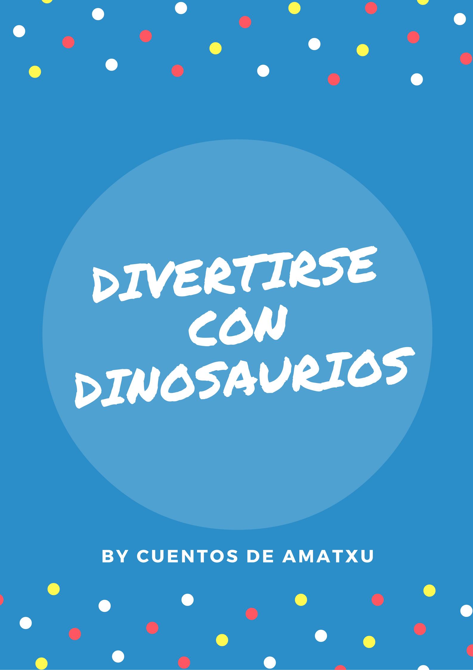 Divertirse con dinosaurios.