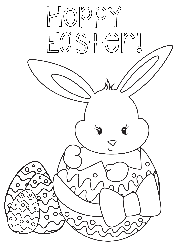 Hermosa Color De Pascua Por Número Imprimible Molde - Enmarcado Para ...